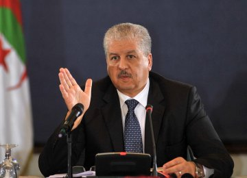 Algerian Premier to Visit Soon