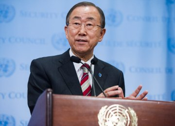 UN Chief Urges Adherence to Iran Deal