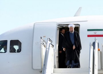 Rouhani Plans 3-Nation Tour