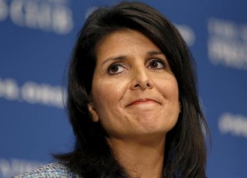 Trump Picks South Carolina Governor as UN Ambassador