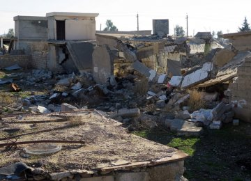 Homes in villages recaptured from IS have been bulldozed, blown up and burned down, the rights group said.