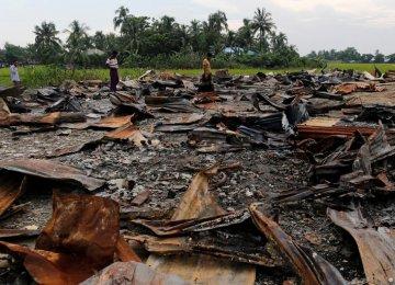 Muslim Villages Razed in Myanmar