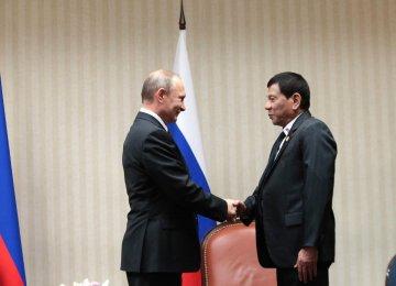 "Duterte Talks to Putin About Western ""Hypocrisy"""