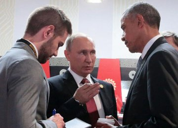 Obama, Putin in Last Meeting