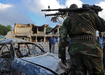 25 Soldiers Killed in Somalia Fighting