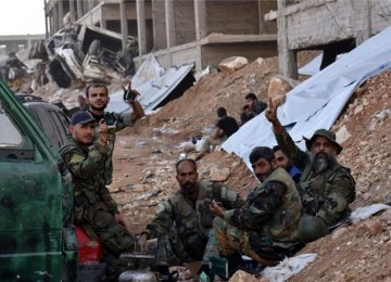 Syrian government forces launched a major assault on eastern Aleppo in September.