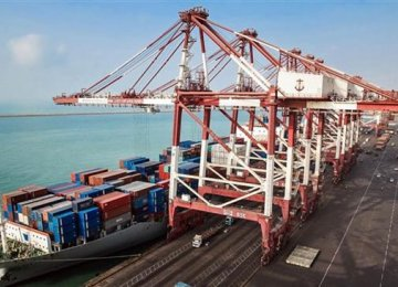 Rise in Shahid Rajaie Port Throughput