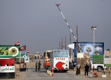 Halt in Iran's Cargo Transit to Iraq
