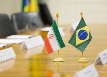 Brazil, Iran to Expand Trade