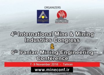 2 Mining Events on Sidelines of Iran ConMin 2016