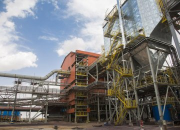 GEG's pellet-making plant No. 2 was inaugurated on Monday.