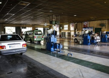 90% of Tehran Cars Undergo Annual Inspections