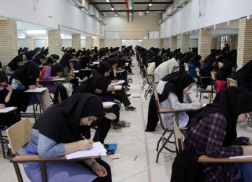 In the entrance exam held in June this year, universities had an overall capacity to admit 800,000 students while only  500,000 took the test.