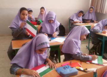 In Iran, there are nearly 600,000 10-year-old girls at the moment.