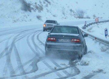 Snow Traps Thousands in 13 Provinces