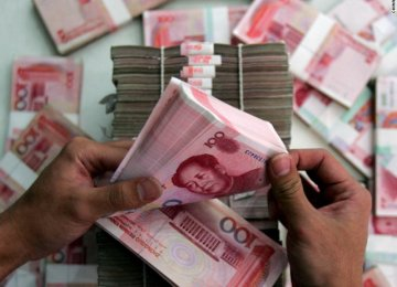 China Currency, Economy Stable
