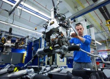 German Factory Production, Exports Drop