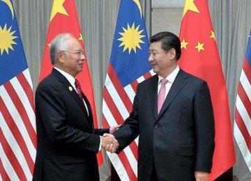 Malaysia, China Sign $33b Deals