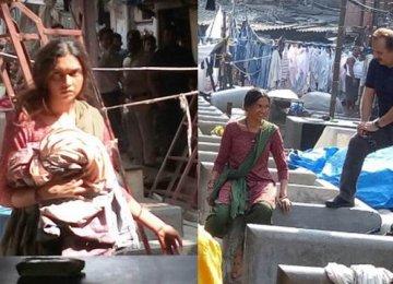 In a shocking new look, Deepika Padukone had a day-long shoot with Majid Majidi.