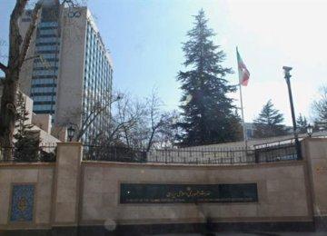 Shots Fired Near Iranian Embassy in Ankara