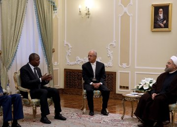 Tehran Ready to Enhance Ivorian Relations