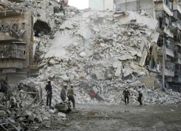 Pause in Aleppo Air War Enters 2nd Day