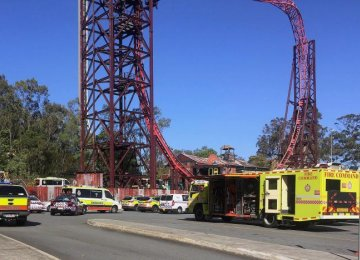 4 Killed on Australian Park Ride