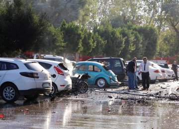 Antalya Blast  Rocks Commercial Center