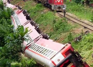 55 Killed in Cameroon Train Derailment