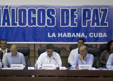 Colombia, FARC Resume Peace Talks