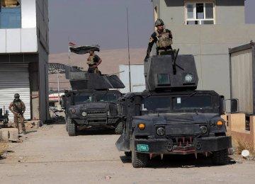 Iraqi Army Advances After IS Assault on Kirkuk