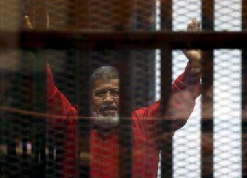 Mursi's 20-Year Prison Sentence Confirmed