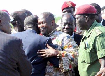 South Sudan Machar Vows to Return Home
