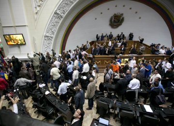 Venezuela's Congress Puts Maduro on Trial