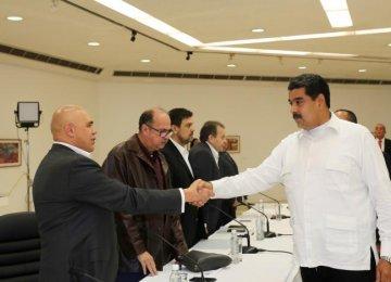 Venezuela's Crisis Talks Kick Off in Caracas