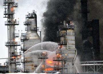 Fire at Venezuelan Oil Refinery