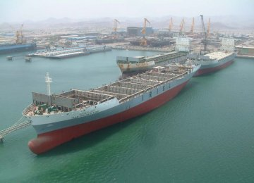 Saderat Charting Bigger Role in Marine Industries