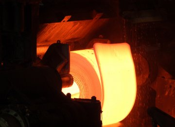 Iran's steelmaking capacity currently stands at 31 million tons per annum.
