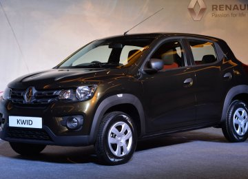 Renault to Sell  Kwid at $8,800  in Iran