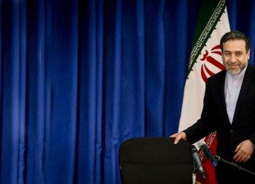 Deputy Foreign Minister Abbas Araqchi