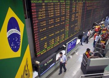 Brazil Stocks Gain