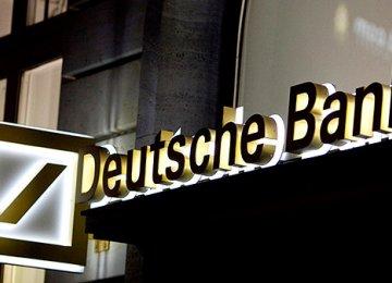 Deutsche Bank Posts First Profit in Months