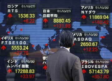 World Stocks,  Commodities Climb