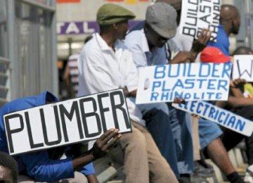 Joblessness in rising in Kenya.