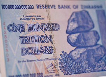 New Zimbabwe Notes Stir Memory of 500b Percent Inflation