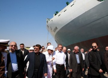 Iran-Kashan OGV Delivered to IRISL
