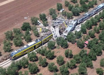 12 Killed in Italy Train Crash