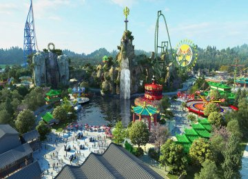 China Opens Theme Park in Battle With Disney