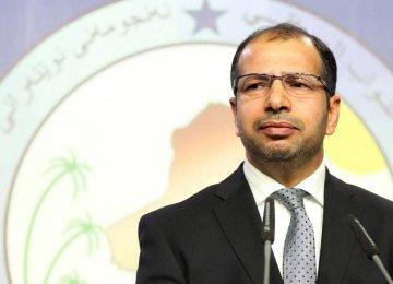 Top Iraqi Lawmaker Due in Tehran