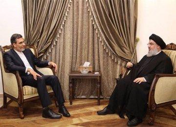 Deputy FM Calls on Nasrallah
